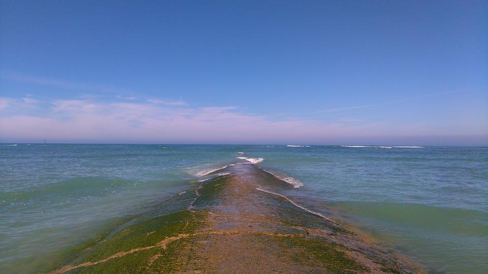 la mer à l'ile de Ré