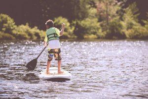 faire du Paddle à l'île de ré