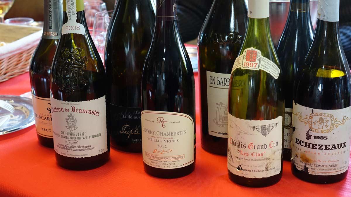 choix vin fonction plat