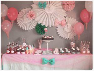 décoration anniversaire
